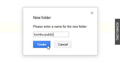 folder name google drive